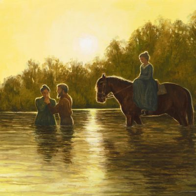 Jane Neyman and the First Baptism for the Dead Nauvoo Mississippi River